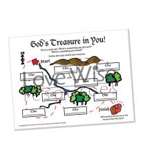 Pam's Treasure Map